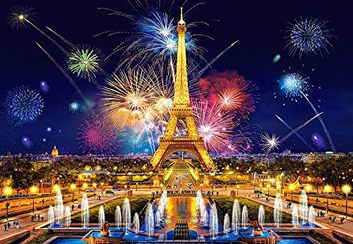 Castorland c-103997Puzzle 1000PC–Glamour of The Night, Paris
