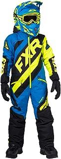 FXR Youth CX Monosuit 2020 (Black/Blue/Hi-Vis - Size 10)