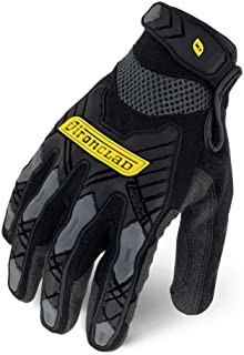IRONCLAD Command Impact Work Gloves; Touch Screen Gloves Conductive Palm and Fingers,..