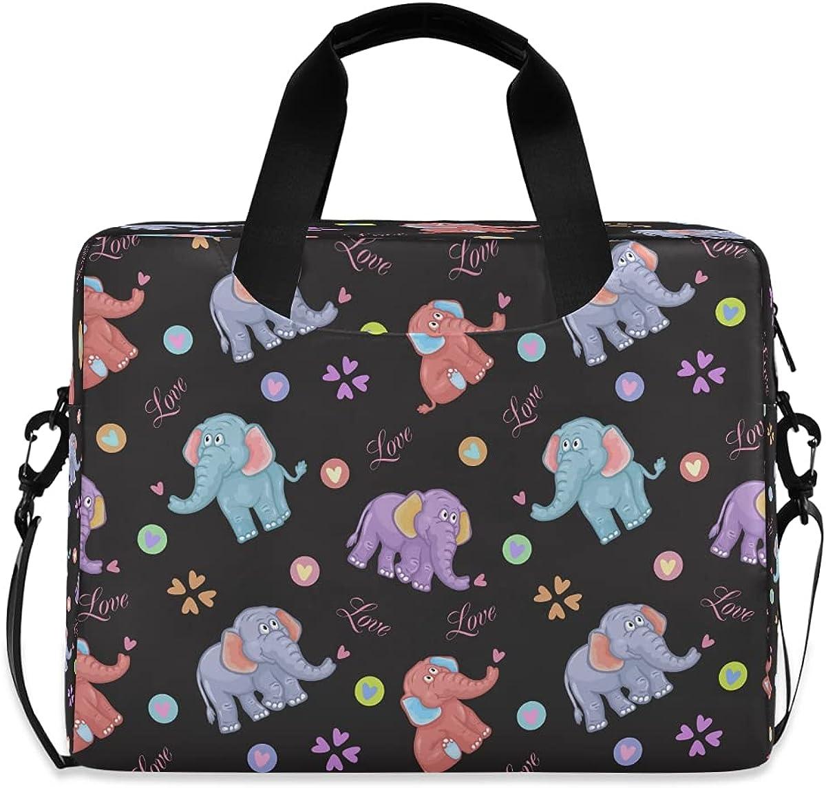 JMbuild Laptop Case 15.6 inch Compu Pattern Oklahoma Max 48% OFF City Mall Animal Elephant Cute