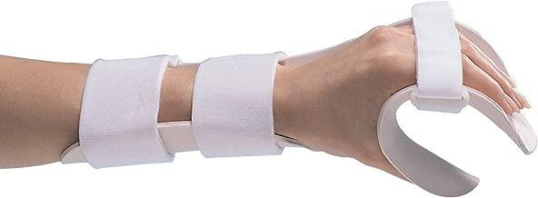 Rolyan Splinting Material Sheet, Functional-Position Hand Splint, Left, Medium, Deluxe Model, Includes Self-Adhesives Strap Kit, Single Sheet