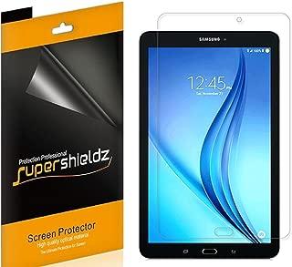 (3 Pack) Supershieldz for Samsung Galaxy Tab E 9.6 inch Screen Protector, High Definition Clear Shield (PET)