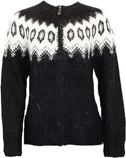 ICEWEAR 'Hulda' Lopapeysa Knitted Sweaters For Women - Full Zip Up Sweater