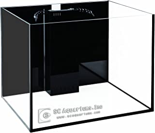 50 Gallon Starfire Aquariums with Center Overflow 24x24x20