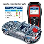Autel MaxiTPMS TS501 TPMS Relearn Tool Automotive Scan Tool with Activate TPMS Sensors/TPMS Sensor Programming/Program… 12 【Upgraded Version of TS408, 2021 Newest】TS501 TPMS Tool can diagnose newest models up to 2020 with frequent updates. It packed ALL TPMS service options: TPMS programming(MX-Sensors), sensors Relearn/Activation, TPMS Reset and TPMS health diagnose, read sensor data, key fob frequency test. Please send VIN to : ❤Autelonline @outlook.com❤ CHECK COMPATIBILITY. 【TPMS Programming】 TS501 TPMS Programming Tool enables all car enthusiasts to program sensor data to Autel MX-Sensors with ease, saving you the money and trip to a dealership. With TS501, you can program AUTEL MX-Sensor (315/433MHz) with 4 programming options: Copy By Activation, Copy By Manual Input, Auto Create and Copy by OBD( Not available with TS408) to replace the faulty sensor with low battery life or one that is not functioning well. 【Relearn All TPMS Sensors】TS501 has added Relearn by OBD comparing with TS408. To turn off the TPMS warning light after replacement, you need to relearn the sensors to the vehicle! Autel TS501 TPMS Relearn Tool provides 3 ways of on-tool relearn precedures to relearn both OE and aftermarket sensors: Stationary Relearn, Automatic Relearn & OBD Relearn.