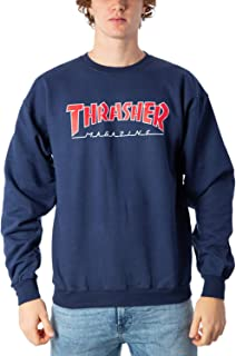 Sweater Men Thrasher Outlined Sweater