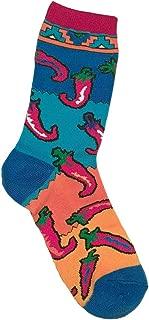 Hot Peppers Chili Pepper Print Socks Women's Size 8-11