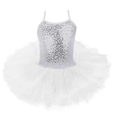 51469962bfd1 iiniim Girls Leotard Dress Ballet/Dance/Gymnastic Tutu Skirt Dancewear  Costume Age 2-