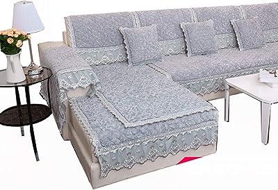 LoveStory - Funda Protectora para sofá con colchón, Felpa y ...