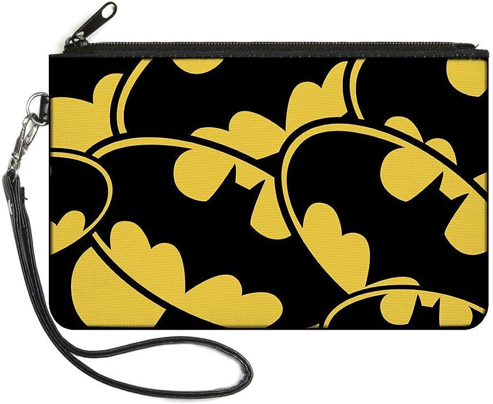 Buckle-Down Buckle-Down Zip Wallet Batman Large Accessory, Batman, 8