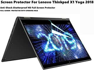 for Lenovo Thinkpad x380 Yoga 13 13.3 Touch Display Laptop Anti Glare Anti Scratch PcProfessional Screen Protector Set of 2