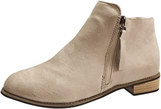 Short Tube Boots Women's Embroidered Bohemian Ankle Bare Boots Side Zip Casual shoes