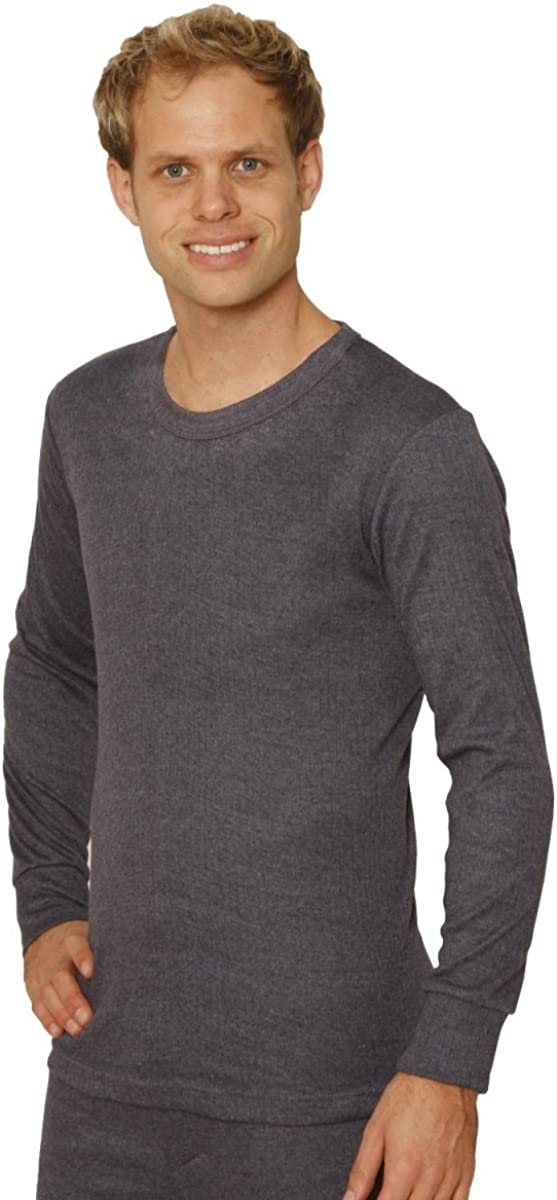 Octave Mens Thermal Underwear Long Sleeve T-Shirt/Vest/Top