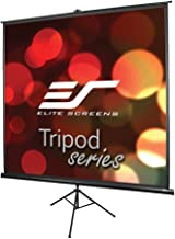 Elite Screens Tripod Series, 50-INCH 1:1, Adjustable Multi Aspect Ratio Portable Indoor..
