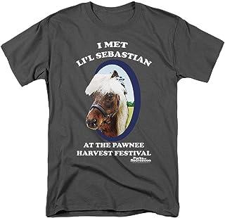 Popfunk Parks & Rec Pawnee's Horse Li'l Sebastian T Shirt & Stickers