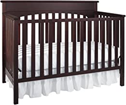 Graco Lauren Convertible Crib, Cherry, Easily Converts to Toddler Bed Day Bed or Full Bed, Three Position Adjustable Height Mattress, Some Assembly Required (Mattress Not Included)