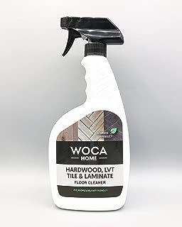 WOCA Denmark - WOCA Home Hardwood, LVT, Tile & Laminate Floor Cleaner - Environmentally Friendly Multi-Surface Floor Cleaning Spray