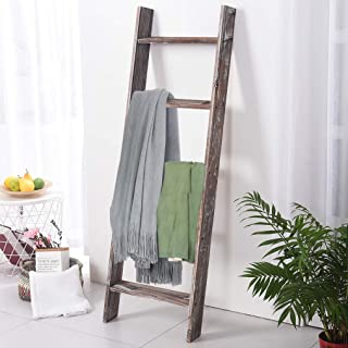 leaning ladder for blankets