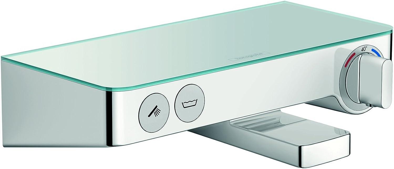 Hansgrohe ShowerTablet Select 300 Aufputz Wannenthermostat, 2 Verbraucher, chrom
