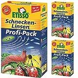 3 x 1 kg ETISSO Schnecken-Linsen Profi-Pack Schneckenmittel -