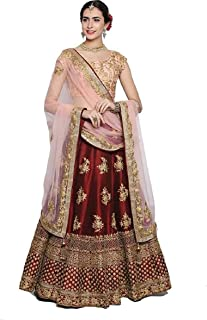 11bd69132e Globalia Creation embroidered semi stitched lehenga for women | womens  Today preminum lehengas collection 2018