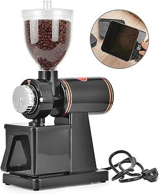 Giraffe-X 110V Electric Burr Coffee Grinder Mill Grinder Coffee Bean Powder Grinding Machine (Black)