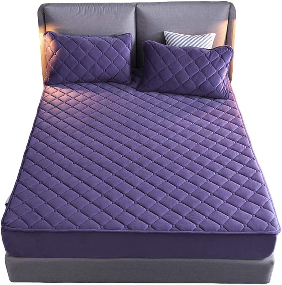 HOMFLOW Bedding Mattress Cover Protecto sold out Quilted shipfree Comfort