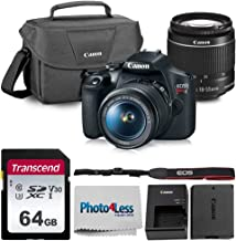 $439 » Canon EOS Rebel T7 Digital SLR Camera Bundle + EF-S 18-55mm f/3.5-5.6 is II + Canon 200ES Shoulder Bag + Transcend 64GB UHS-I U3 SD Memory Card Top Value Bundle!