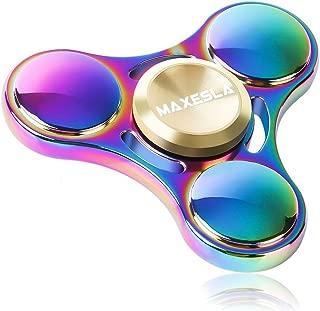 Green NUOVA VERSIONE Fidget Spinner giocattolo resistente ad alta velocità 3-5 min Tri-Spinner