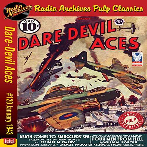 Dare-Devil Aces: #120, January 1943 cover art