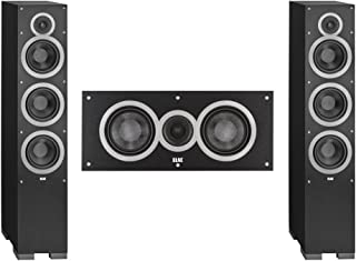 Elac 3.0 System with 2 Debut F6 Floorstanding Speakers, 1 Debut C5 Center Speaker