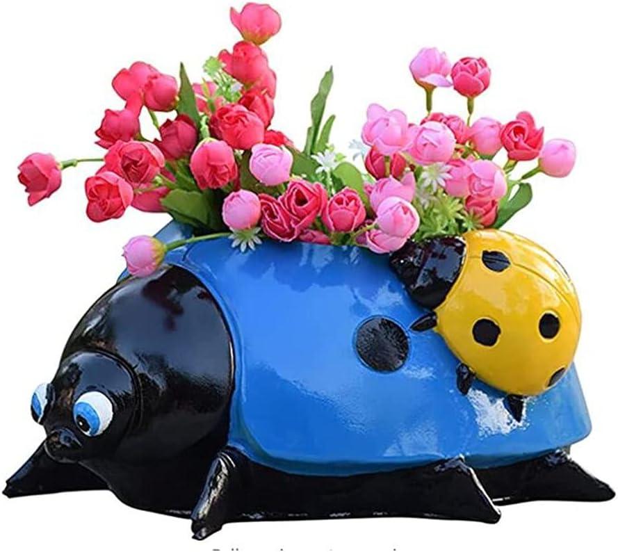 Ladybird Planter SALENEW Outlet ☆ Free Shipping very popular Pot Animal flower O pot Succulent
