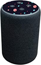 MightySkins Skin Compatible with Amazon Echo Plus (2nd Gen) - Bright Night Sky | Protective, Durable, and Unique Vinyl Dec...