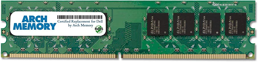 Arch Memory Replacement for Dell SNPYG410C/2G 2 GB 240-Pin DDR2 UDIMM RAM for Vostro 320