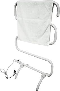 Heated Towel Rail Rails Towel Warmer,Electric Heated Towel Rail,Portable Towel Warmer S Type Bathroom Radiator,Towel Dryin...
