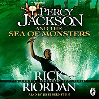 The Sea of Monsters: Percy Jackson, Book 2                   By:                                                                                                                                 Rick Riordan                               Narrated by:                                                                                                                                 Jesse Bernstein                      Length: 7 hrs and 55 mins     121 ratings     Overall 4.5