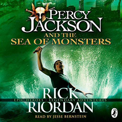 The Sea of Monsters: Percy Jackson, Book 2 audiobook cover art
