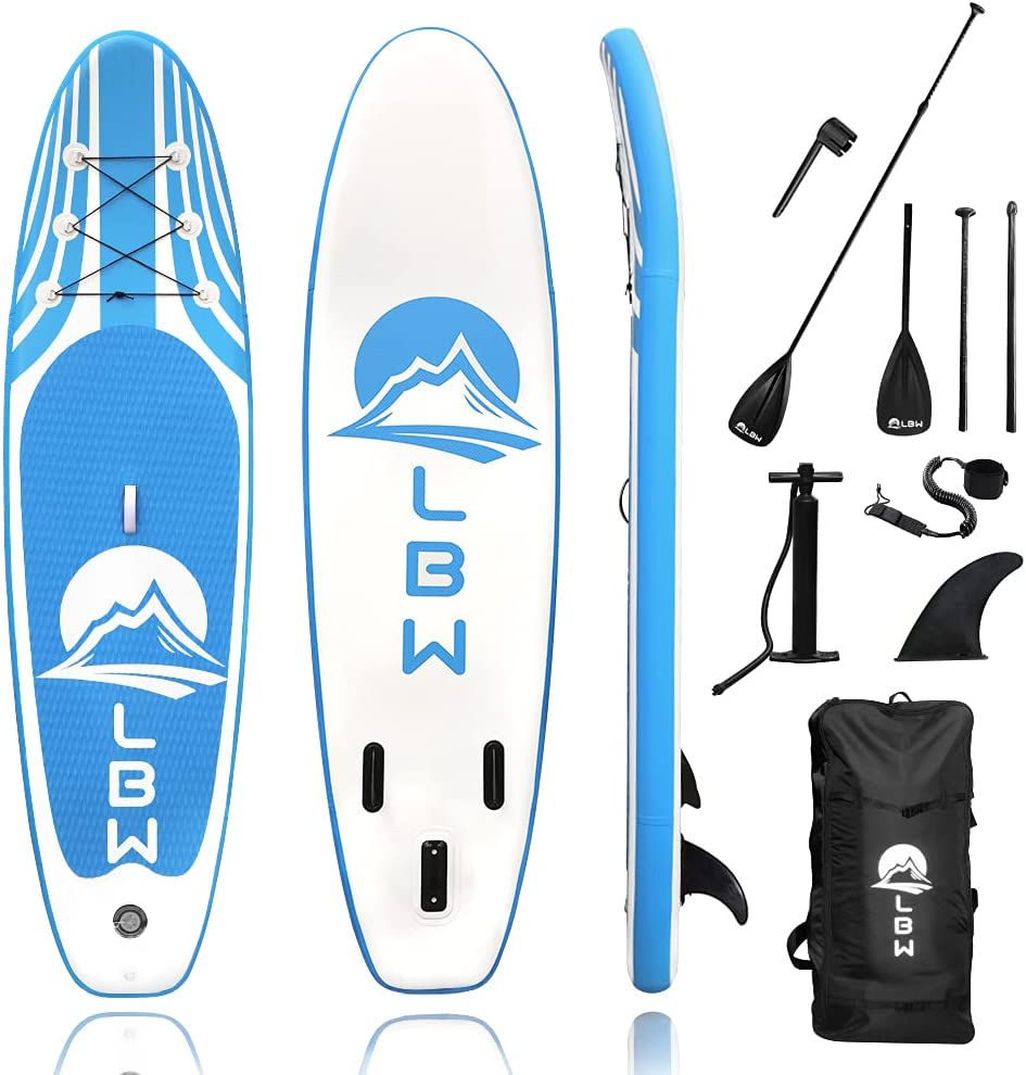 Ultra-Cheap Deals LBW Inflatable Stand Up Paddle with Premium Los Angeles Mall SUP Board Accessorie