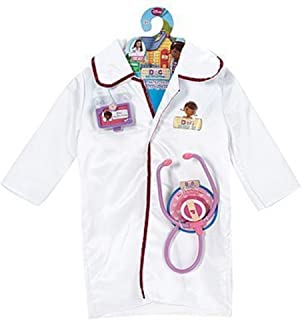 Just Play Disney Doc McStuffins Dress Up Doctor Coat Costume Set
