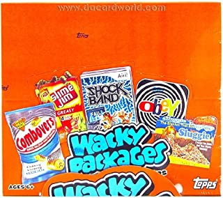 2012 Topps Wacky Packages Packs Series 9 Sticker Cards HOBBY Box - 24 packs / 8 cards
