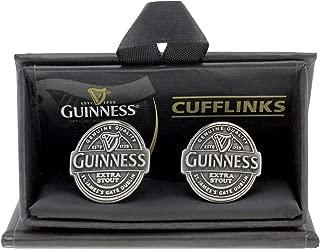 Guinness Label antique look cufflinks (sg)