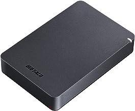 BUFFALO USB3.1(Gen.1)対応 耐衝撃ポータブルHDD 4TB ブラック HD-PGF4.0U3-GBKA