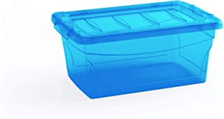 صندوق بلاستيك للتخزين اومني من كايس 8608000B، 11 لتر - ازرق