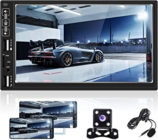 Double Din Car Stereo 7 inch Digital Touch Screen 2 Din Car Radio with Bluetooth FM Radio Receiver Dual USB/AUX-in/TF/SD C... photo