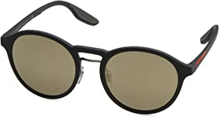 Prada Linea Rossa Square Men's Sunglasses - PS02SSTFZ7-TFZ7W1 - 55 -20-145 mm