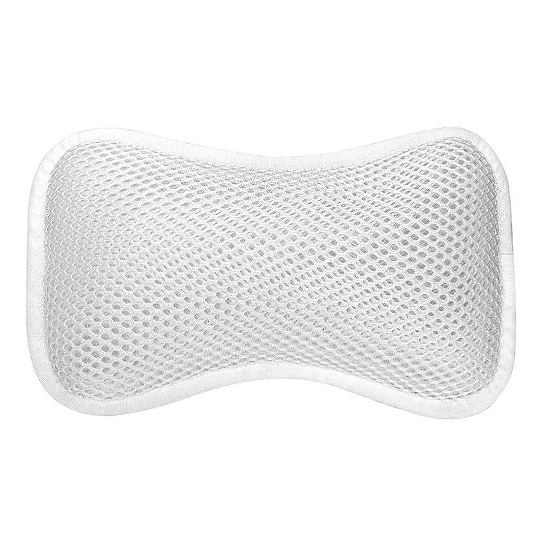 復讐血統農業の3D網の骨の定形バスタブの枕、吸盤が付いている人間工学的の設計滑り止??めの浴槽の枕