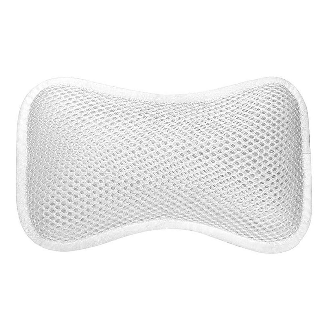 気付く気づく始まり3D網の骨の定形バスタブの枕、吸盤が付いている人間工学的の設計滑り止??めの浴槽の枕
