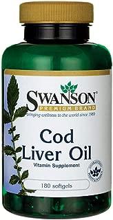 Swanson Cod Liver Oil 1250 Iu A/135 Iu D 180 Sgels