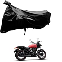 Kandid Black Polyester two wheeler cover_1