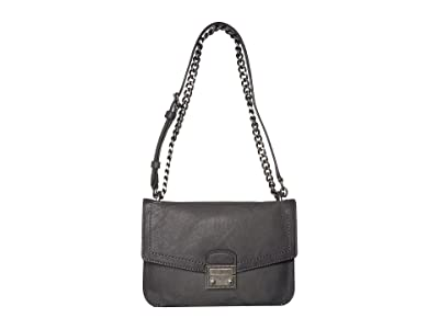 Frye Ella Crossbody (Carbon) Cross Body Handbags